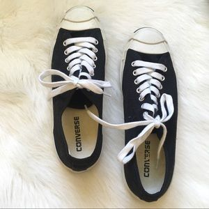 Black & White Jack Purcell Lace Ups